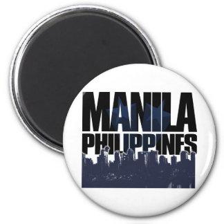 Manila PHILIPPINES 6 Cm Round Magnet