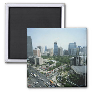 Manila Skyline Fridge Magnets