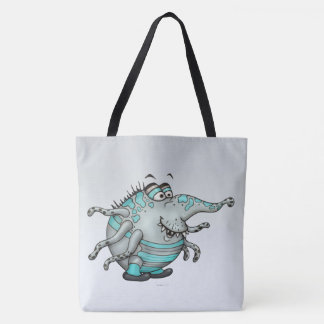 MANILL ALIEN MONSTER CUTE TOTE CARTOON TOTE BAG