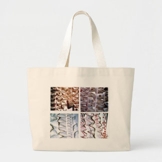 Manipulated Paper origami Folds Jumbo Tote Bag