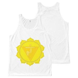 Manipura or Solar Plexus Chakra  Unisex Vest All-Over Print Tank Top