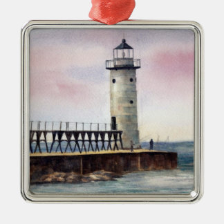 Manistee North Pierhead Lighthouse Ornament