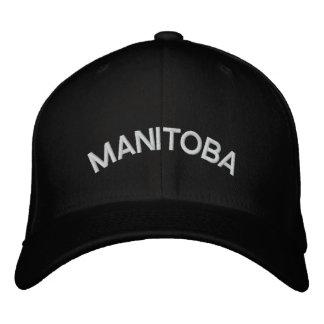 Manitoba Baseball Cap Embroidered Canada Cap