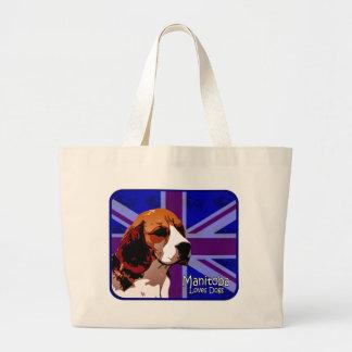 Manitoba Beagle Tote Bags
