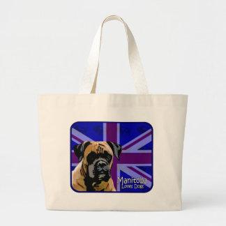 Manitoba Boxer Canvas Bags