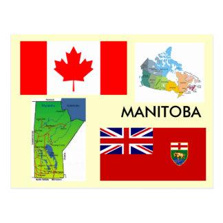 Manitoba, Canada Postcard