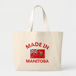 Manitoba Coat of arms Tote Bags