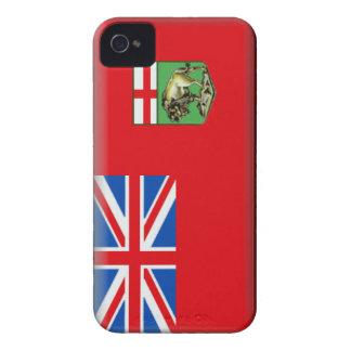 Manitoba Flag Case-Mate iPhone 4 Case