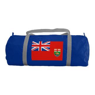 MANITOBA Flag Gym Duffel Bag
