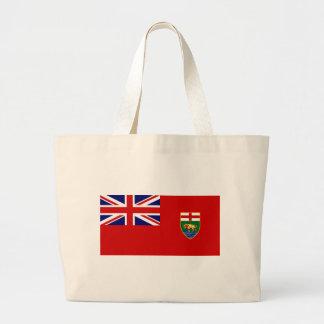 Manitoba Flag Jumbo Tote Bag