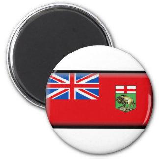 Manitoba Flag Magnet