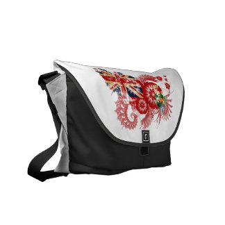Manitoba Flag Courier Bags