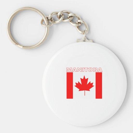 Manitoba Key Chain