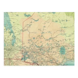 Manitoba & Northwest Ontario Postcard