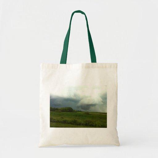 Manitoba Storms Canvas Bag