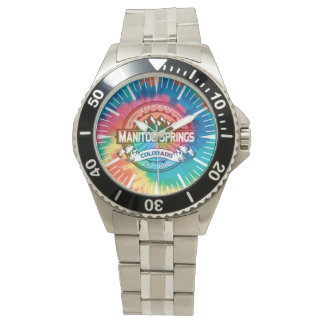 Manitou Springs Tie Dye Watch