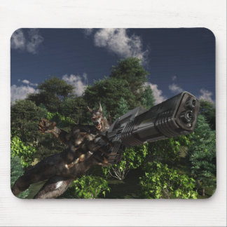 Manitou Werewolf Mouse Pad