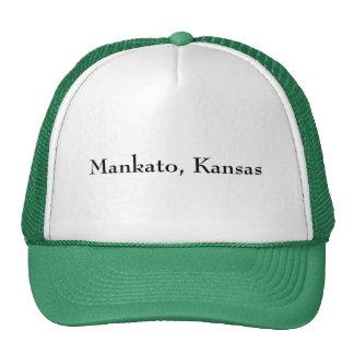 Mankato, Kansas - Customized Cap