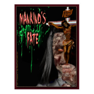 Mankinds Fate Postcard