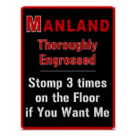 Manland: Engrossed - Posters