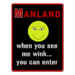 Manland - posters