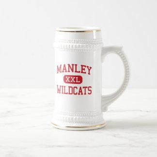 Manley - Wildcats - High School - Chicago Illinois Beer Stein