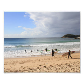 Manly Beach Photo Print