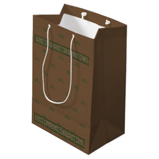 Manly Gift Bag - Personalise - Celtic Knot