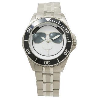 Manly Man Kool Kat Panda Emoji Wrist Watch