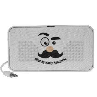 Manly Moustche Travel Speaker