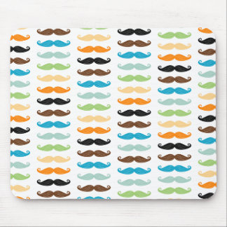 Manly Mustaches Mouse Pad