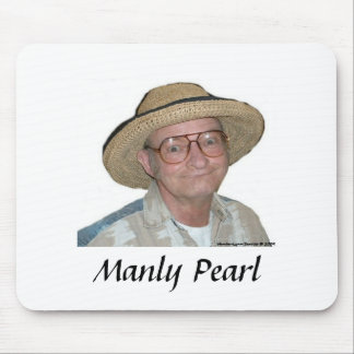 Manly Pearl - Mousepad