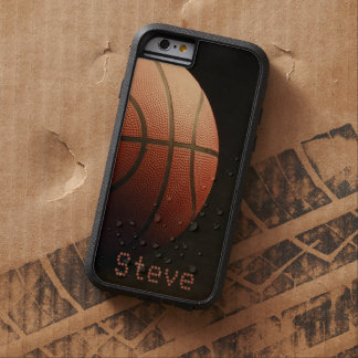 Manly Sports Basketball Sporty Court Team Tough Xtreme iPhone 6 Case