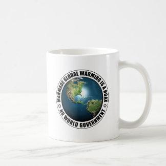 Manmade Global Warming Hoax Basic White Mug