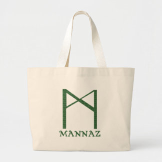 Mannaz Tote Bags