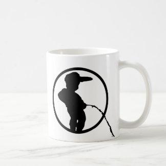 Manneke Pis Basic White Mug