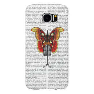 Mannequin Red And Yellow Butterfly Samsung Galaxy S6 Cases