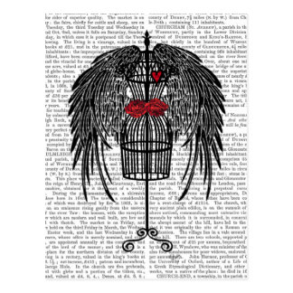 Mannequin With Black Wings Postcard
