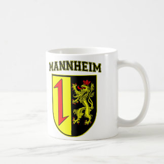 Mannheim Germany Wappen/Crest Coffee Mug