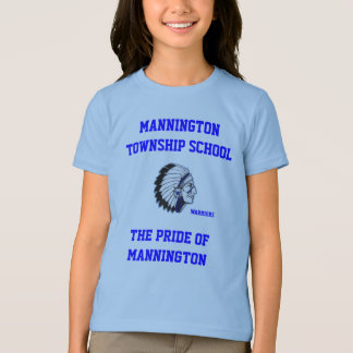 MANNINGTON TOWNSHIP SCHOOL GIRLS RINGER TEE SHIRT
