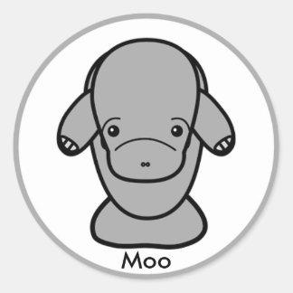 Manny Sticker Moo