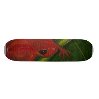 Manny The Mantella (Frog) Custom Skateboard