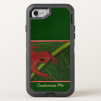 Manny The Mantella (Frog) OtterBox Defender iPhone 8/7 Case