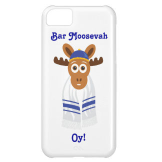 Manny The Moose Head_Bar Moosevah Oy! iPhone 5C Case