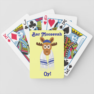 Manny The Moose Head_Bar Moosevah Oy! Poker Cards