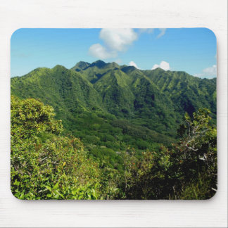Manoa Valley Morning Mouse Pad