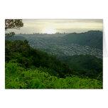 Manoa Valley to Waikiki Card