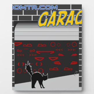 manomtr garage plaque