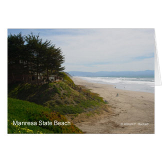 Manresa State Beach California Products Cards