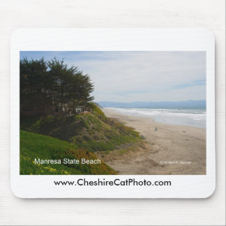 Manresa State Beach California Products Mouse Pad